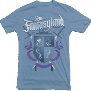 3 of 5: Fantasyland - New Fantasyland commemorative collection - Men's Shield Tee