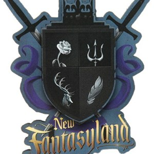 5 of 5: Fantasyland - New Fantasyland commemorative collection - Magnet