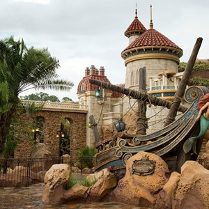 1 of 3: Fantasyland - Under the Sea ~ Journey of the Little Mermaid