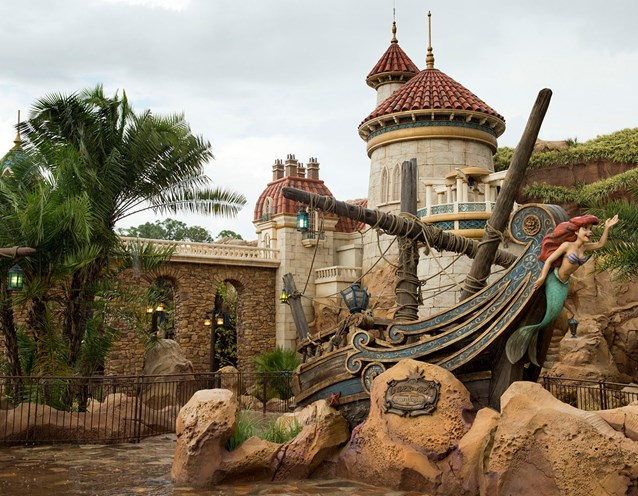 Fantasyland - Under the Sea ~ Journey of the Little Mermaid