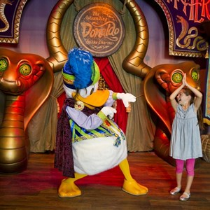 1 of 8: Fantasyland - Inside Pete's Silly Sideshow - The Astounding Donaldo
