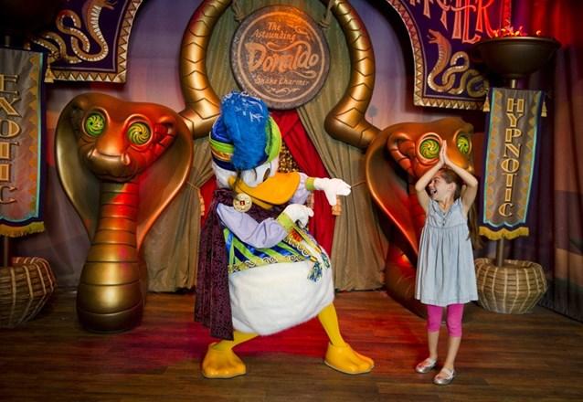 Fantasyland - Inside Pete's Silly Sideshow - The Astounding Donaldo