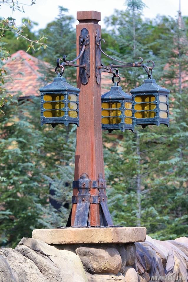 Fantasyland - New Fantasyland Enchanted Forest - Lighting details inside Belle's Village