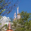 Fantasyland - New Fantasyland Enchanted Forest - Beast&#39;s Castle from Enchanted Tales with Belle gardens
