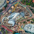 Fantasyland - Aerial views of new Fantasyland