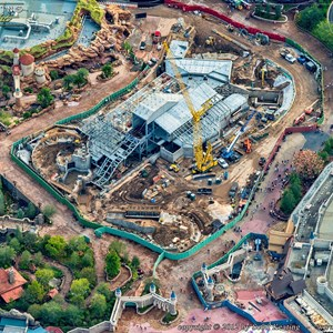 3 of 4: Fantasyland - Aerial views of new Fantasyland