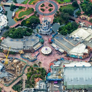 4 of 4: Fantasyland - Aerial views of new Fantasyland