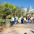 Fantasyland - Fantasyland soft opening - Walt Disney Imagineers greeting the first guests into the new Fantasyland