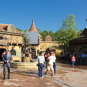 3 of 43: Fantasyland - Fantasyland soft opening - Belle's Village