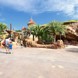 5 of 43: Fantasyland - Fantasyland soft opening - Under the Sea - Journey of the Little Mermaid