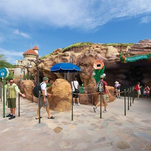6 of 43: Fantasyland - Fantasyland soft opening - Ariel's Grotto