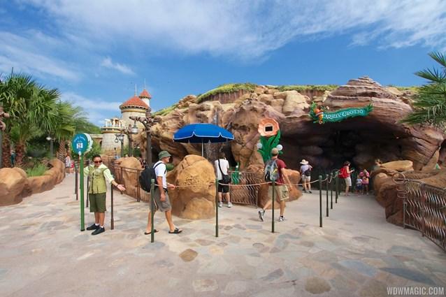 Fantasyland - Fantasyland soft opening - Ariel's Grotto