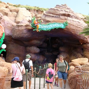 7 of 43: Fantasyland - Fantasyland soft opening - Entrance to Ariel's Grotto