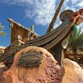 Fantasyland - Fantasyland soft opening - Under the Sea - Journey of the Little Mermaid entrance signage marquee