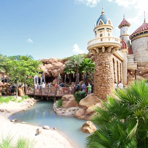 14 of 43: Fantasyland - Fantasyland soft opening - Under the Sea - Journey of the Little Mermaid