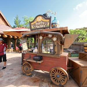 15 of 43: Fantasyland - Fantasyland soft opening - Snack cart