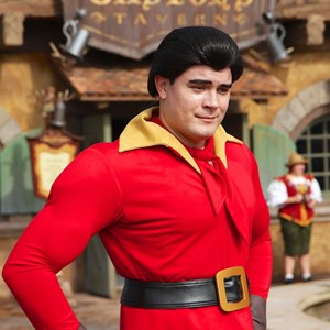 25 of 43: Fantasyland - Fantasyland soft opening - Gaston meet and greet