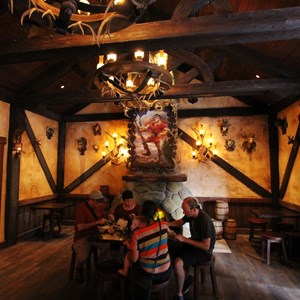 27 of 43: Fantasyland - Fantasyland soft opening - Inside Gaston's Tavern
