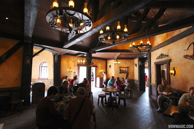 Fantasyland - Fantasyland soft opening - Inside Gaston's Tavern