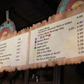 Fantasyland - Fantasyland soft opening - Gaston's Tavern menu