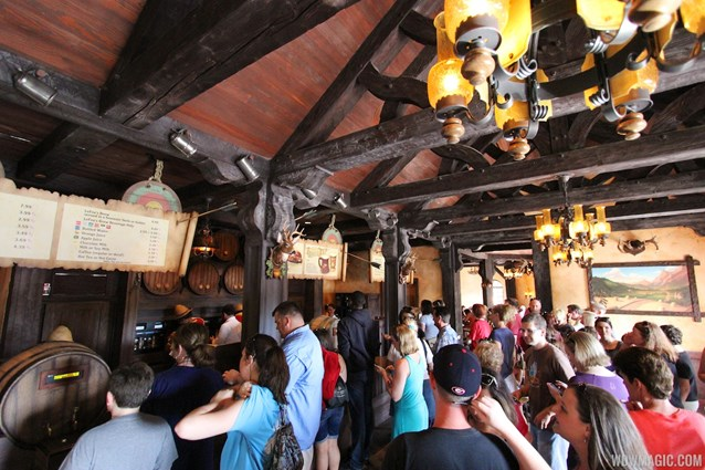 Fantasyland - Fantasyland soft opening - Gaston's Tavern ordering area