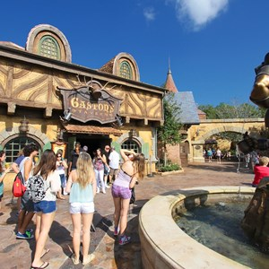 33 of 43: Fantasyland - Fantasyland soft opening - Gaston's Tavern