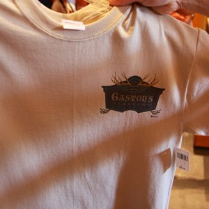 18 of 24: Fantasyland - Gaston's Tavern T-Shirt front