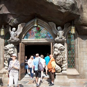 1 of 21: Fantasyland - Inside Be Our Guest Restaurant
