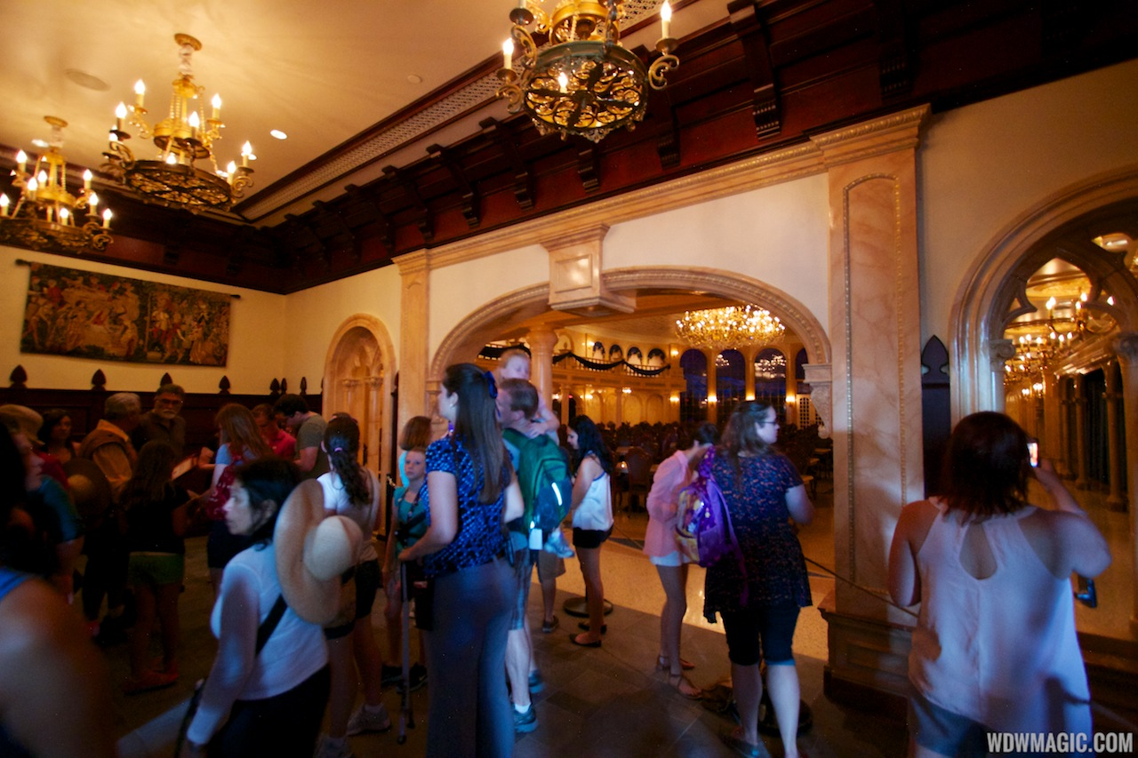 Inside Be Our Guest Restaurant Photo 3 Of 21