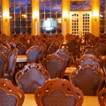 Fantasyland - Inside Be our Guest Restaurant -  The main ballroom dining room