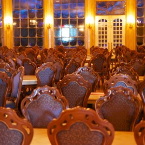 20 of 21: Fantasyland - Inside Be our Guest Restaurant -  The main ballroom dining room