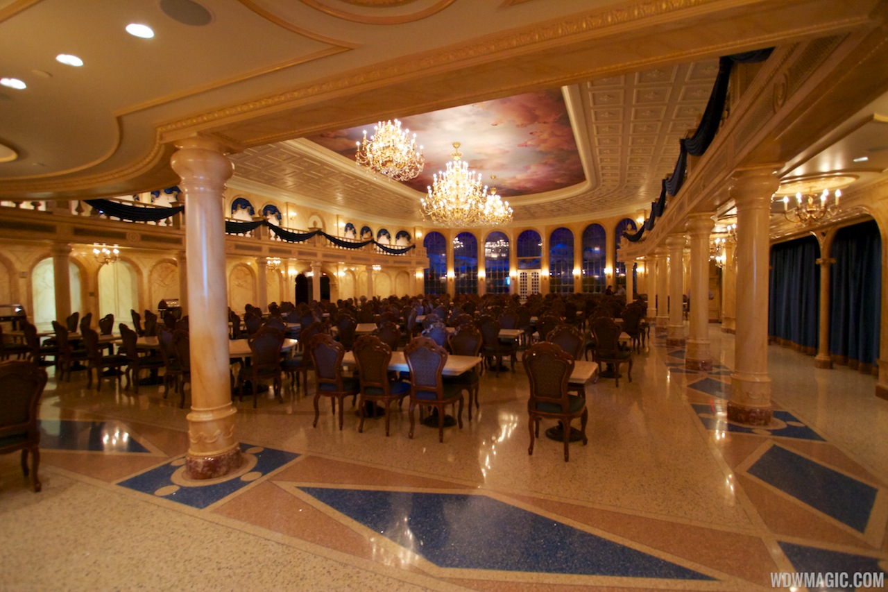 Inside Be Our Guest Restaurant Photo 18 Of 21