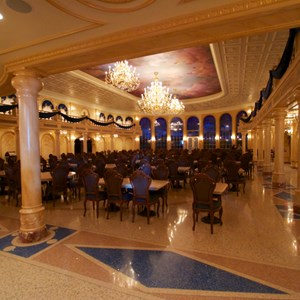 18 of 21: Fantasyland - Inside Be our Guest Restaurant - The main ballroom dining room
