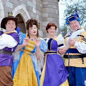 1 of 1: Fantasyland - Royal Majesty Makers in the New Fantasyland