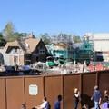 Fantasyland - New Fantasyland restroom area construction