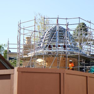 6 of 8: Fantasyland - New Fantasyland restroom area construction