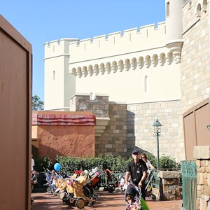 7 of 8: Fantasyland - New Fantasyland restroom area construction