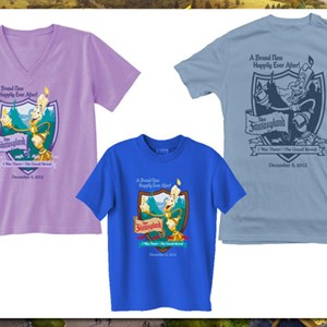 1 of 4: Fantasyland - New Fantasyland commemorative T Shirts