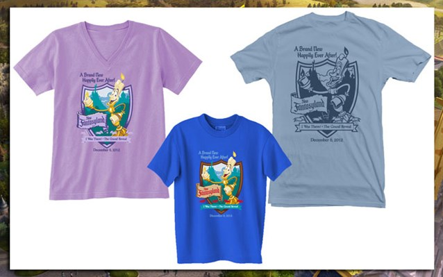 Fantasyland - New Fantasyland commemorative T Shirts