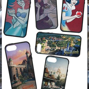 3 of 4: Fantasyland - New Fantasyland commemorative iPhone cases