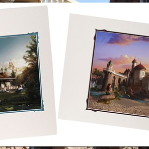 4 of 4: Fantasyland - New Fantasyland commemorative prints