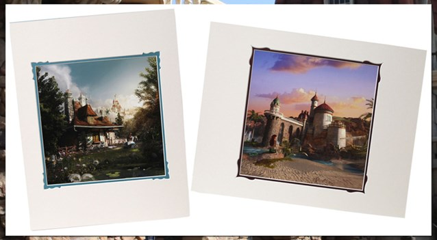 Fantasyland - New Fantasyland commemorative prints