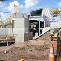 Fantasyland - A look through the new &quot;sneak peek&#39; wall