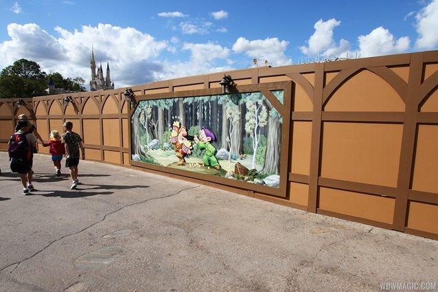 Fantasyland - New Mine Train artwork