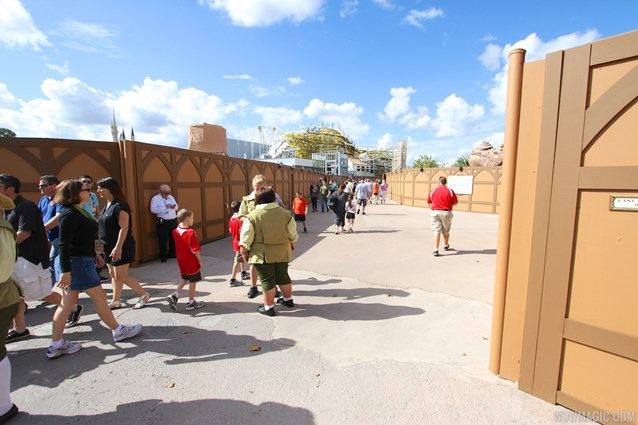 Fantasyland - Walkway is now open between Storybook Circus and the Enchanted Forest