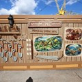 Fantasyland - New Seven Dwarfs Mine Train  construction wall art