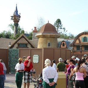 4 of 4: Fantasyland - New Fantasyland restroom area construction