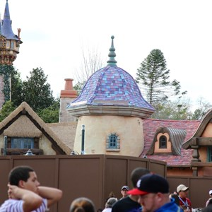 5 of 5: Fantasyland - New Fantasyland restroom area construction