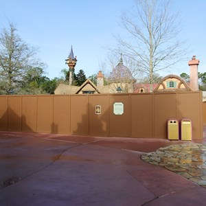 5 of 8: Fantasyland - New Fantasyland restroom area construction