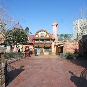 3 of 32: Fantasyland - The stroller parking area